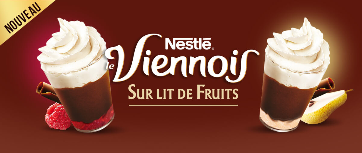 Viennois sur lit de fruits